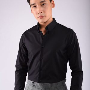Cổ button – down
