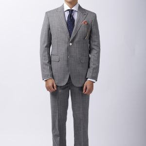 Vest Nam Grey Stripe V53 02